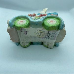 Vintage Accents - Hermitage Pottery Bunnies in Cars - set of 2
